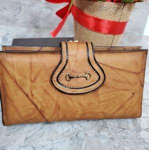 Di Lido Vintage 80s wallet Checkbook holder